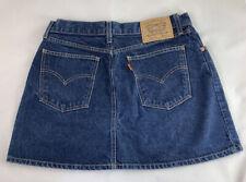 Vintage Levis Ladies Skirt B20 W 32 - Orange Label !!!