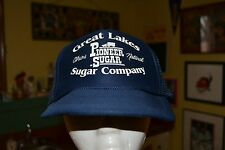 Great Lakes Sugar Company Pioneer Sugar Logo Trucker Mesh Snapback Hat Cap Nice