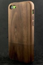 iWooden iPhone 5C Real Walnut Wood Case Thinnest Wood  Cover✔️Wood Buttons✔️