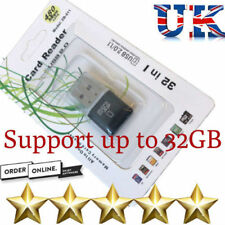 Micro SD Memory Card Reader SDXC/TF MINI USB 2.0 ad alta velocità adattatore