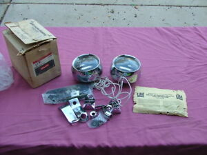 1973-87 Chevy, GMC pick-up truck foglamp kit, NOS! fog lights 2234658 Suburban