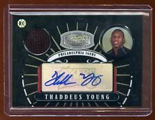 THADDEUS YOUNG STERLING BLACK REFRACTOR RC AUTO /5 JERSEY  ONLY 5 MADE  RARE