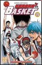 Manga Kuroko's Basket tome 15 Livre Neuf Tadatoshi Fujimaki Kaze I'll Génération