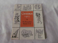 Christmas 1952 The Metropolitian Museum Of Art Christmas Card Selection Booklet