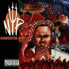GANKSTA NIP PSYCHOTIC GENIUS 1996 OOP TIGHT CD RAP-A-LOT POINT BLANK GANXSTA NIP