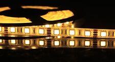 BOBINA STRISCIA LED 5050 ALTA LUMINOSITA' 300 LED BIANCO CALDO IMPERMEABILE