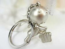 Mr.P Boy Hurdle Key Ring Chain Classic 3D Keychain Cute Creative Funny Gift