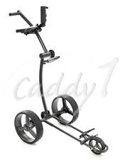 Design Golf Trolley CADDYONE 100 Darkgrey, nur 6kg