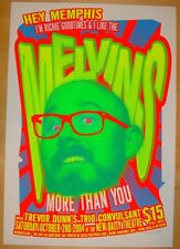 2004 The Melvins - Memphis Silkscreen Concert Poster by Richie Goodtimes