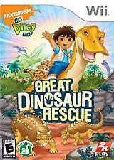 Go  Diego  Go! Great Dinosaur Rescue [Nintendo Wii]
