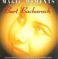 Burt Bacharach: Magic Moments by Burt Bacharach (CD, Apr-1999, BMG
