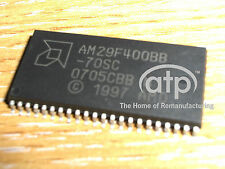 AM29F400BB-70SC Brand new FLASH EPROM  PSOP44 , SOP44 X10 PIECES