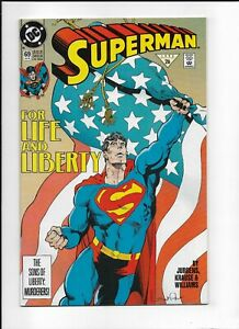 Superman #69 (1992) High Grade NM- 9.2