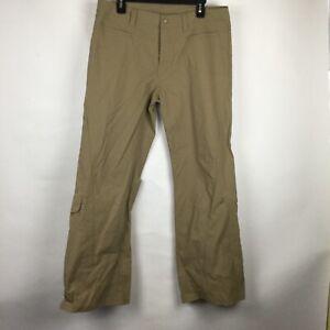 athleta Nylon Blend Tan pants Hiking Outdoors 30089 Size 14