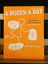 A dozen a day exercices pour piano méthode Edna-Mae Burnam livre 5 Willis music