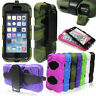 HEAVY DUTY SHOCK PROOF BUILDERS PROTECTOR COVER CASE FOR SAMSUNG GALAXY & iPhone