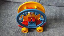Lego Duplo Zirkus Clown auf Drehscheibe (Rad Spielplatz