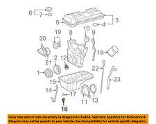 TOYOTA OEM-Engine Oil Drain Plug 9034112012