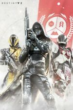 """DESTINY 2 POSTER """"CHARACTERS"""" """"LICENSED"""" BRAND NEW 61cm X 91.5cm"""