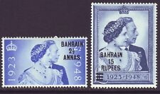 Bahrain 1948 SC 62-63 MH Set Silver Wedding
