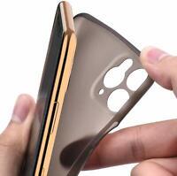 Hülle für iPhone 12 Full Back Cover Hardcase ultra thin 0,35mm Case extrem dünn
