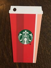 """New No Value Canada Series Starbucks /""""RED CUP TRIMMINGS 2016/"""" Gift Card"""
