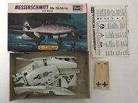 Vintage Revell Messerschmitt Me 262A-1a - H-624 Model Kit Plane Scale 1/72 - (35