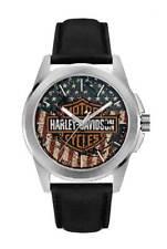 "Harley-Davidson Herrenuhr ""USA"" Armbanduhr Uhr  *76A153*"