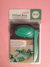 pillow box punch board per fare buste scrapbooking