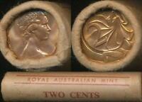 Australia, RAM Mint Roll of 50 1981 Two Cent Coins - Unc-Gem Unc
