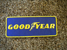 75mm GOODYEAR MOTORING EMBROIDERED PATCH