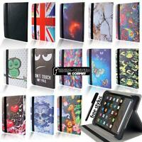 Leather 360° Rotating Stand Case For Amazon Kindle Fire 7 9th generation (2019 )