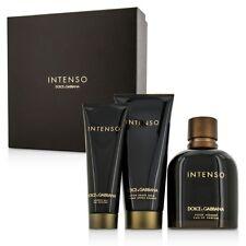 Dolce & Gabbana Intenso Coffret: EDP Spray 125ml/4.2oz + After Shave Balm 3pcs