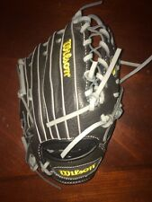 "New Wilson WTA06RB15BLG115 11.5"" Youth Contender Baseball Glove Dustin Pedroia"