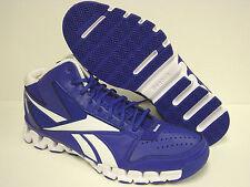 NEW Mens REEBOK Zig Nano Pro Fury V45139 Blue SAMPLE Basketball Sneakers Shoes