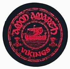 AMON AMARTH - VIKINGS - BACK PATCH - BRAND NEW - MUSIC BAND 0852