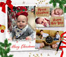 10 Personalised Christmas Photo Cards & Envelopes ~ High Quality ~ Fast Proof