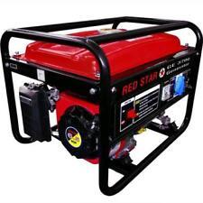 Generatore Mosa Red-Star Ge-3700 Avr Benzina Kw 2,5