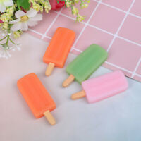1Pc 1:6 Dollhouse Miniature Popsicle Pretend Play Toy Dollhouse Accessories FE