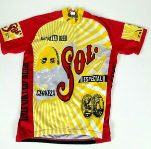 world jerseys cycling mens XL Jersey SOL imported beer Cerveza