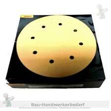 Haftschleifscheiben MIRKA Grip 200 mm, P120, Nr. 2363205012,Gold 8-fach gelocht
