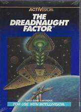 """DREADNAUGHT FACTOR""  NEW SEALED INTELLIVISION GAME---BY ACTIVISION---LAST 1!!"