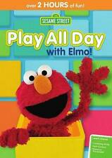 SESAME STREET: PLAY ALL DAY WITH ELMO! NEW DVD