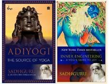 Inner Engineering & Adiyogi: Source Of Yoga By Sadhguru (2 Paperback Books Set)