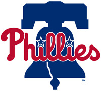 Philadelphia Phillies MLB Color Die-Cut Decal / Sticker *Free Shipping