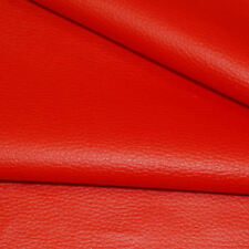Red SYNTHETIC LEATHER  fabric for furniture, auto upholstery by metre