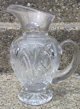 """Waterford Crystal Romance of Ireland Collection 9"""" 38oz Bunratty Pitcher Marked"""