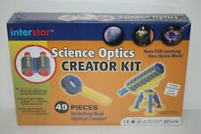 Interstar Science Optics Creator Kit - Telescope, Binoculars, & Magnifying Glass