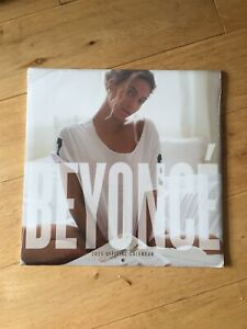 BEYONCE 2015 OFFICIAL CALENDAR NEW AND SEALED