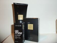 AVON LITTLE BLACK DRESS 3 PC  GIFT SET LOTION, NAIL ENAMEL, PARFUM